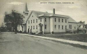 Methodist-Episcopal-Church-Harrington-Kent-County-Delaware-1940-Postcard