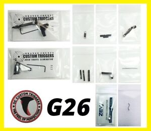 Details about OC CUSTOM TRIGGER LOWER PARTS KIT FITS GLOCK G26 26 FITS  POLYMER 80