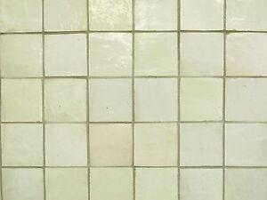 Das Bild Wird Geladen Glasierte Handform Fliesen Marokko 10x10 Wandfliesen  Weiss Beige