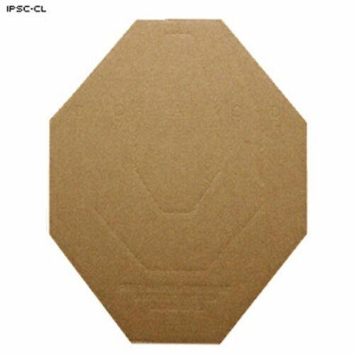 Brown// IPSC-CL-100 Action Target IPSC Classic Cardboard Target 100 Per Case