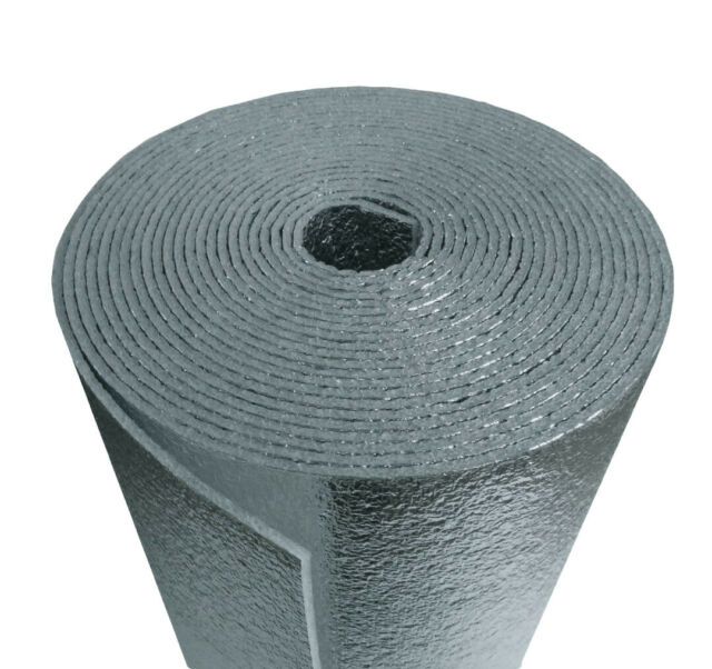 16X25 Ft Roll 31.3 SF Reflective Foam Thermal Foil Insulation Radiant Barrier