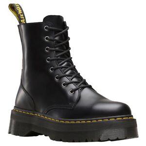Najlepiej szeroki zasięg Kod kuponu Details about Dr.Martens Jadon Black Mens Polished Smooth Mid-Calf 8-Eye  Platform Zip-up Boots