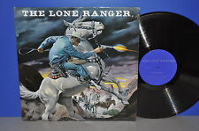 The Lone Ranger Adventure 1 + 2 story in english USA Hörspiel Vinyl LP cleaned