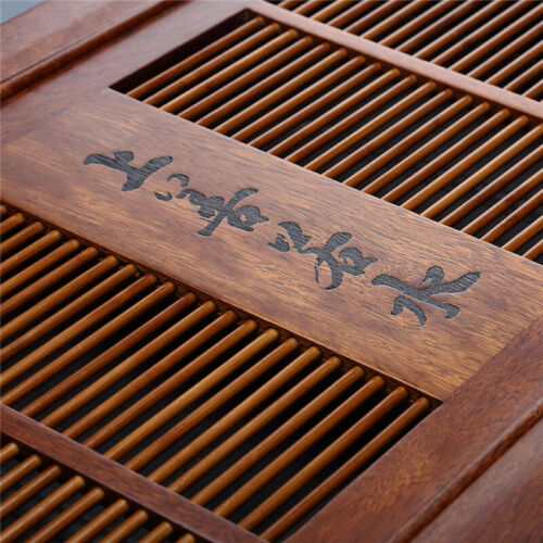 Rosewood tea tray Drawer type tea table Drainage tray Chinese tea brand tea tray