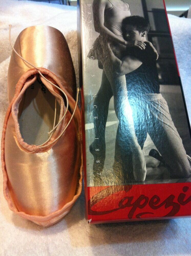 NEW ~  Capezio Pointe Shoes ~ Style 199 TENDU II ~ European Pink ~ New In Box