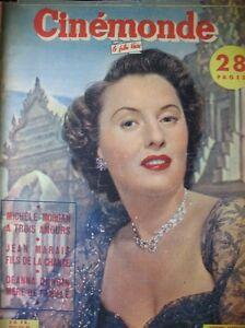 Cinema-Stanwick-Michele-Morgan-Deanna-Durbin-Gerard-Philipe-N-903-Kodak-1951