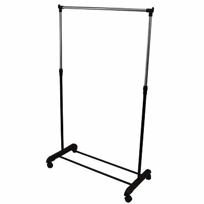Single Garment Rack Clothes Adjustable Portable Hanging Rail By Home Discount