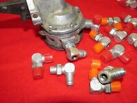 Lycoming Fuel Pump Fitting With Provision For Restrictor Fitting To Presssure