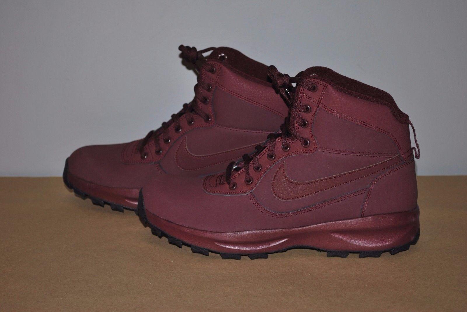 Nike MANOADOME Hiking Boots Sneakerboot Night Maroon 844358-600 Mens Size - 10.5