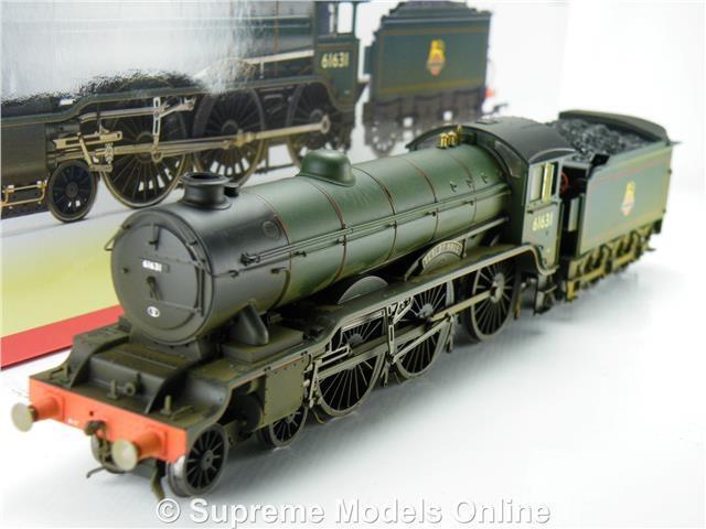 HORNBY R3004 BR 4-6-0 CLASS B17 2 MODEL TRAIN SERLBY HALL WEATHErojo STEAM K8Q
