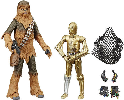 Star Wars The Black Series Chewbacca et C-3PO Toys 6 scale Collectible Figures