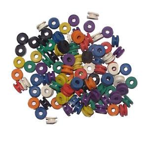 Nadelstangen Gummis  Bund - 100 Stück