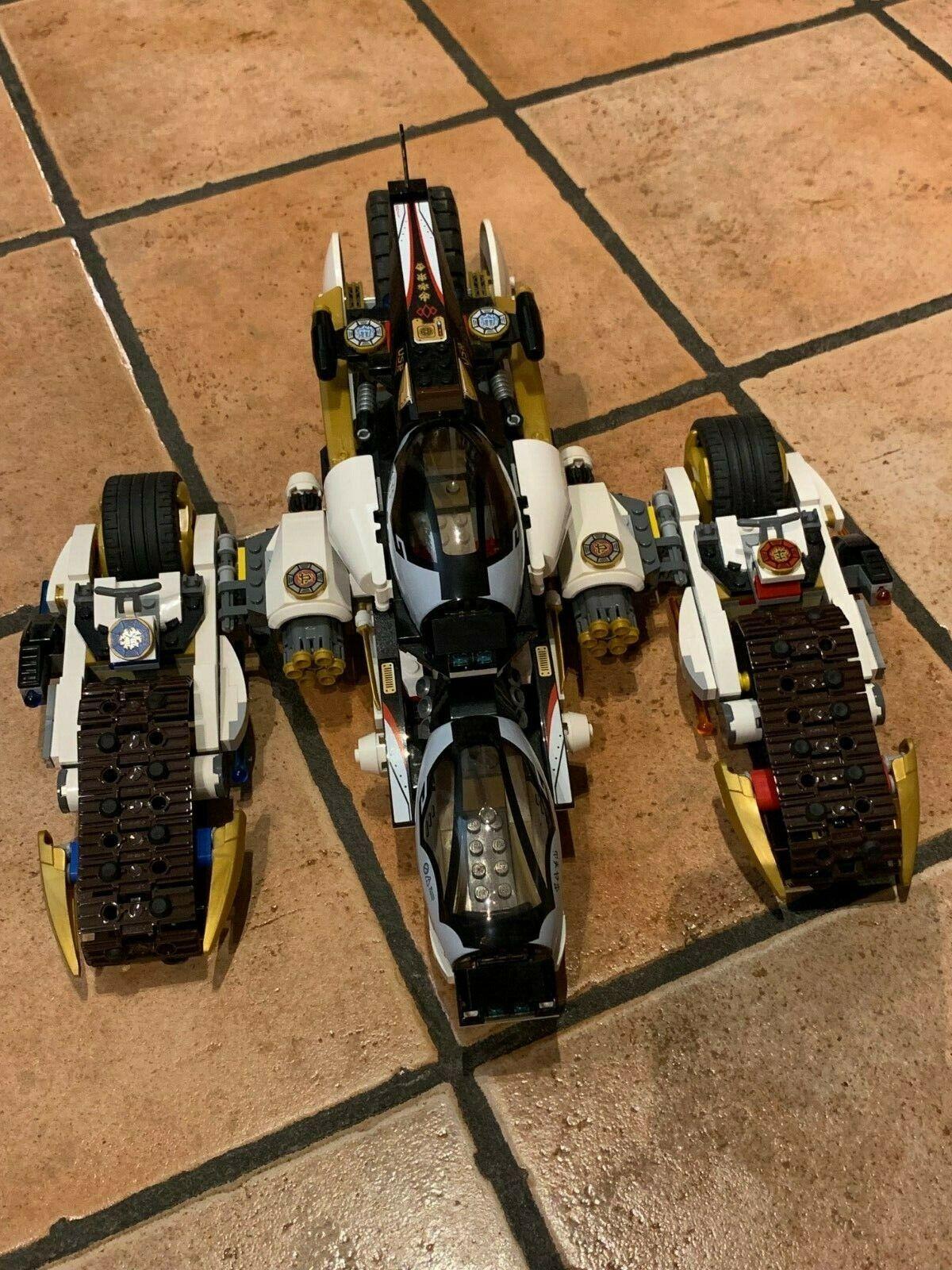 LEGO NINJAGO ULTRA STEALTH RAIDER + ISTRUZIONI - NO MINIFIGURES