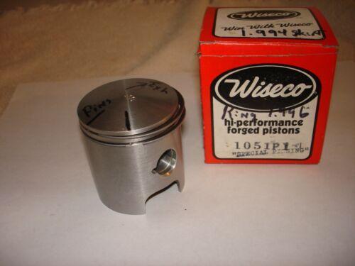 TKM PCR Kart Engine Pistons//Special Pinned Forged// Vintage//WKA