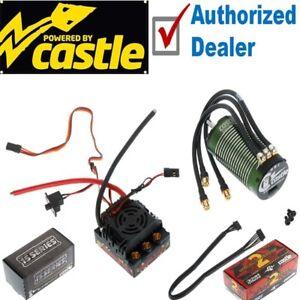 Castle Creations 1/8 Mamba Monster 2 25v Waterproof ESC 2200kv Motor Combo