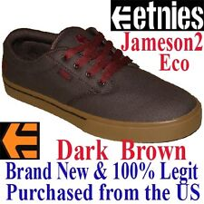 Etnies JAMESON 2 ECO Men's SIZE 8.5 Skateboard Shoes - BROWN Skate BMX Sneaker