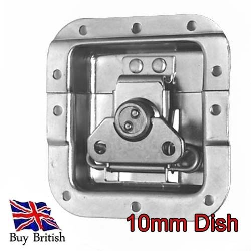 Penn Elcom Medium Offset Butterfly Latch 10mm Dish