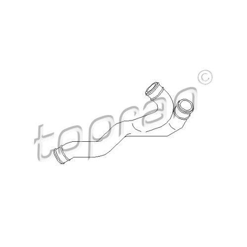 Original TOPRAN Tuyau Joint de culasse bretonnes purge AUDI VW SEAT SKODA