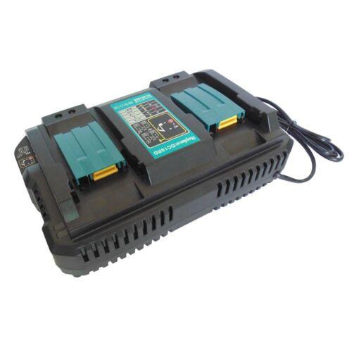 2x Makita BL1850 Akku 18V 5Ah BL1840B Li-Ion 1x DC18RD Doppel Ladegerät Ersetz