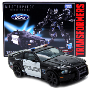 Transformers 5 Masterpiece MPM-05 Barricade Car Action Figure 7  Toy New