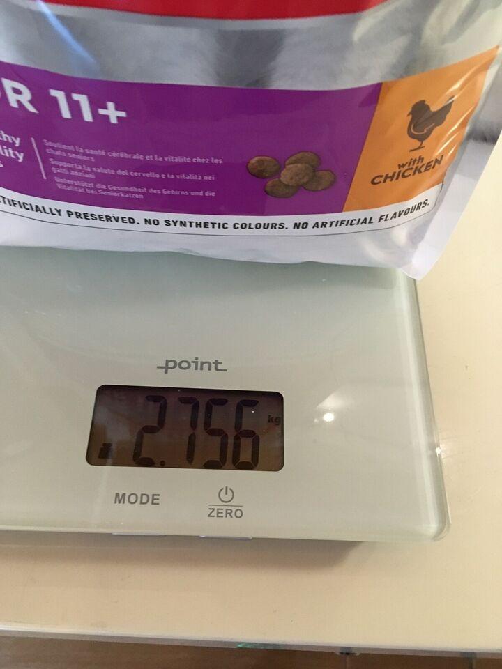 Kattefoder, Hills senior tørkost