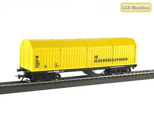 Lux-9130-H0-Schienen-und-Oberleitungsschleifwagen-AC-System-NEU-in-OVP