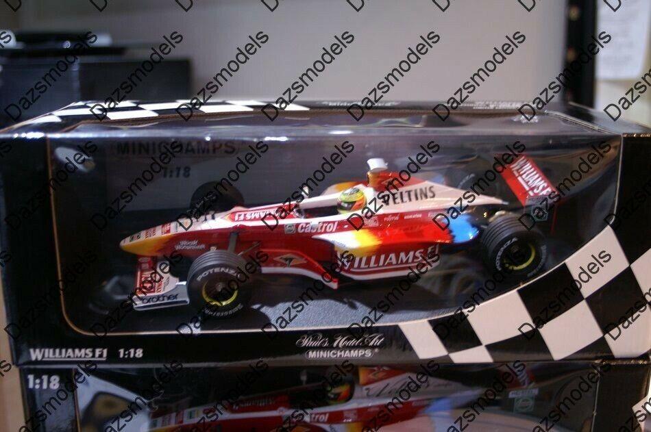 Minichamps Williams F1 Show 180 990096 1 18 R. Schumacher