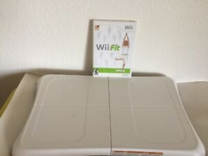 Nintendo-Wii-Fit-Balance-Board-Bundle-With-Wii-Fit-Game-Tested-Working-Exercise