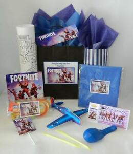 Details About Fortnite Personalised Pre Filled Party Bag Gift Bags