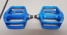 Vintage OG 1980s Blue SHIMANO DX 9/16 Old School BMX Racing Pedals 401 SE GT OM