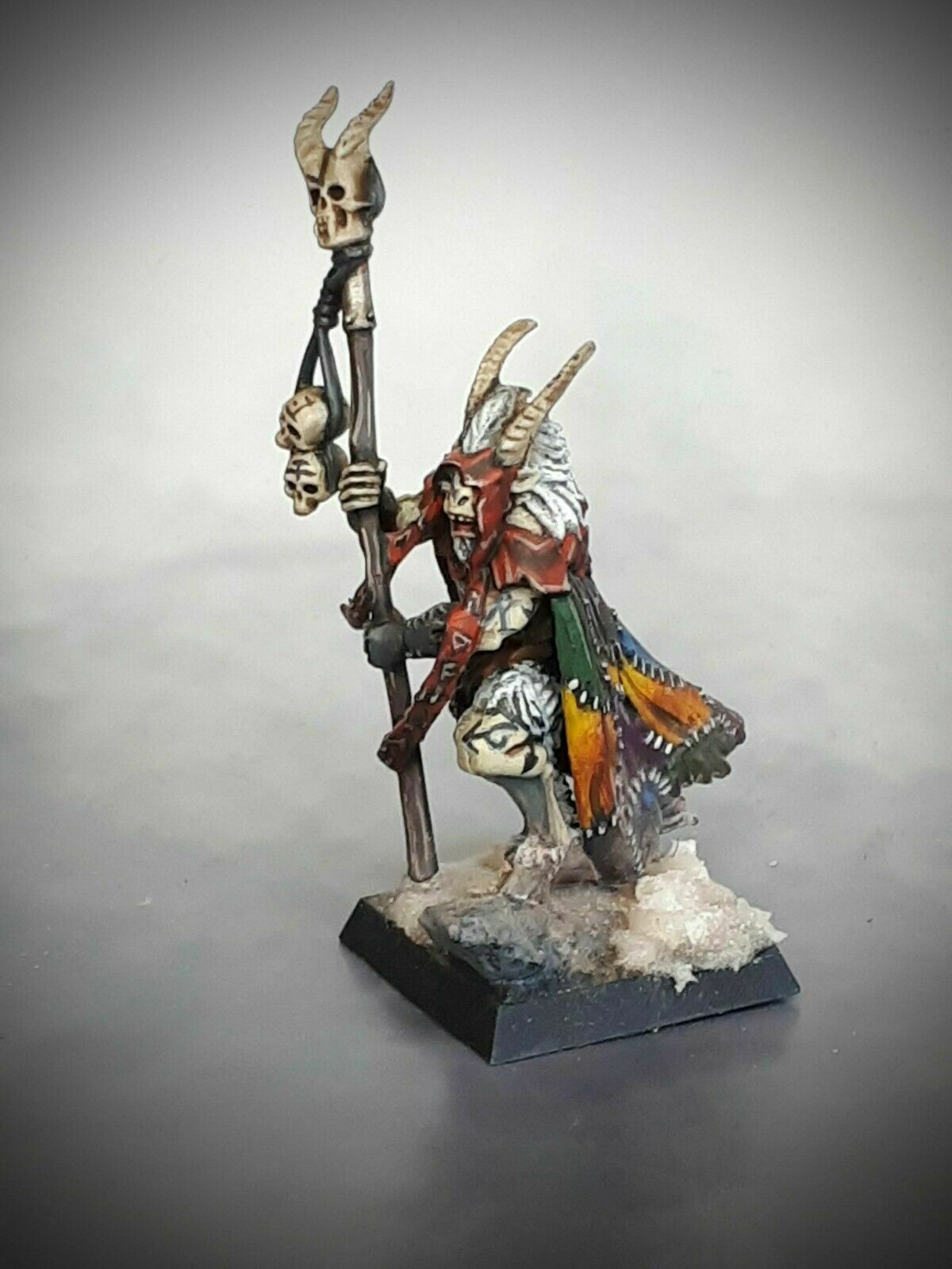 ❶ WARHAMMER Fantasy AoS Wargames Games Workshop Model Citadel Beastmen Shaman