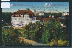 35016) Ak Hambourg Villas Colonie Hochkamp 1914 + Bahnpost Hbg. - Blankenese-afficher Le Titre D'origine