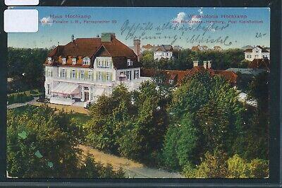35016) Ak Hamburg Villenkolonie Hochkamp 1914 + Bahnpost Hbg. - Blankenese