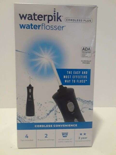 Waterpik Waterflosser Cordless Plus Black WF-462W.
