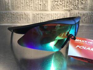 20437659e1b9 Maxx HD Sunglasses Sniper black smoke lens golf TR90 polarized HDP ...