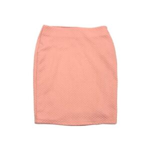 Forever-21-Women-039-s-Pink-Lined-Classic-Pencil-Mini-Work-Casual-Skirt-Size-Small