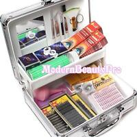 False Eyelash Individual Extension Micro Brush Patch Glue Tools Kit Box Case Set