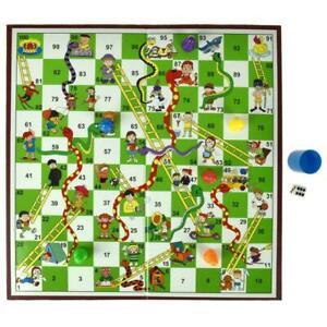 Snakes & Ladders Board Game Traditional Children Games X 1 Gift UK SELLER