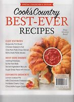 Cook's Country 2017 Best Ever Recipes Magazine Special Collector's Edition