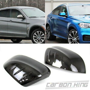 Dry Carbon Bmw X6 F16 Suv Side View Mirror Fin Cover Trim Cover 17