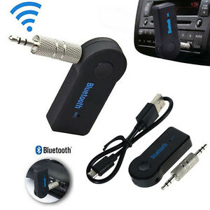 1 PC 3.5mm Wireless Audio Bluetooth Receiver for Car Stereo Music Dongle Adapter