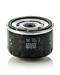 Filtro-de-aceite-Mann-amp-Hummel-W-75-3-Nuevo-Original-5-Ano-De-Garantia