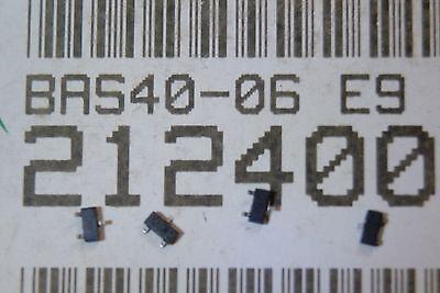 500pcs BAS40-06 DIODE SCHOTKKY 2x 200mW 5ns 40V  GS-VISHAY