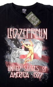 Led-Zeppelin-United-States-of-America-1977-T-Shirt-Men-039-s-Official-2015-Live-Nati