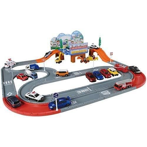 Tomica Tomica system town road set