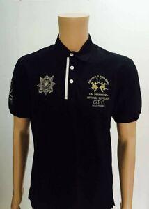 a76367efe LA MARTINA GUARDS Men's Polo T-Shirt, Short Sleeve 100% cotton,