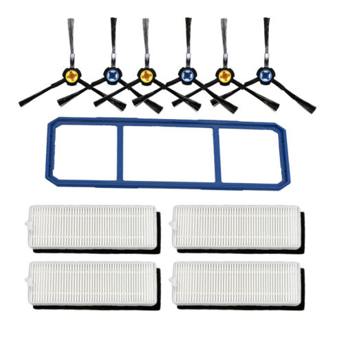 Main Brush Hepa Filter Side Brush Primary Dust Filter For Chuwi ilife A7 A9S