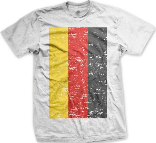 German Flag Germany Deutschland Pride Soccer Fußball Football Mens T-shirt