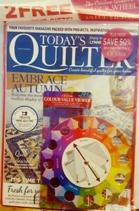 Details About Today S Quilter Uk Issue 14 Embrace Autumn Colour Value Viewer Free Shipping Cb