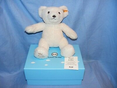 Steiff Teddy Bear My First Steiff Cream 241376 New Baby Gift Boxed Present